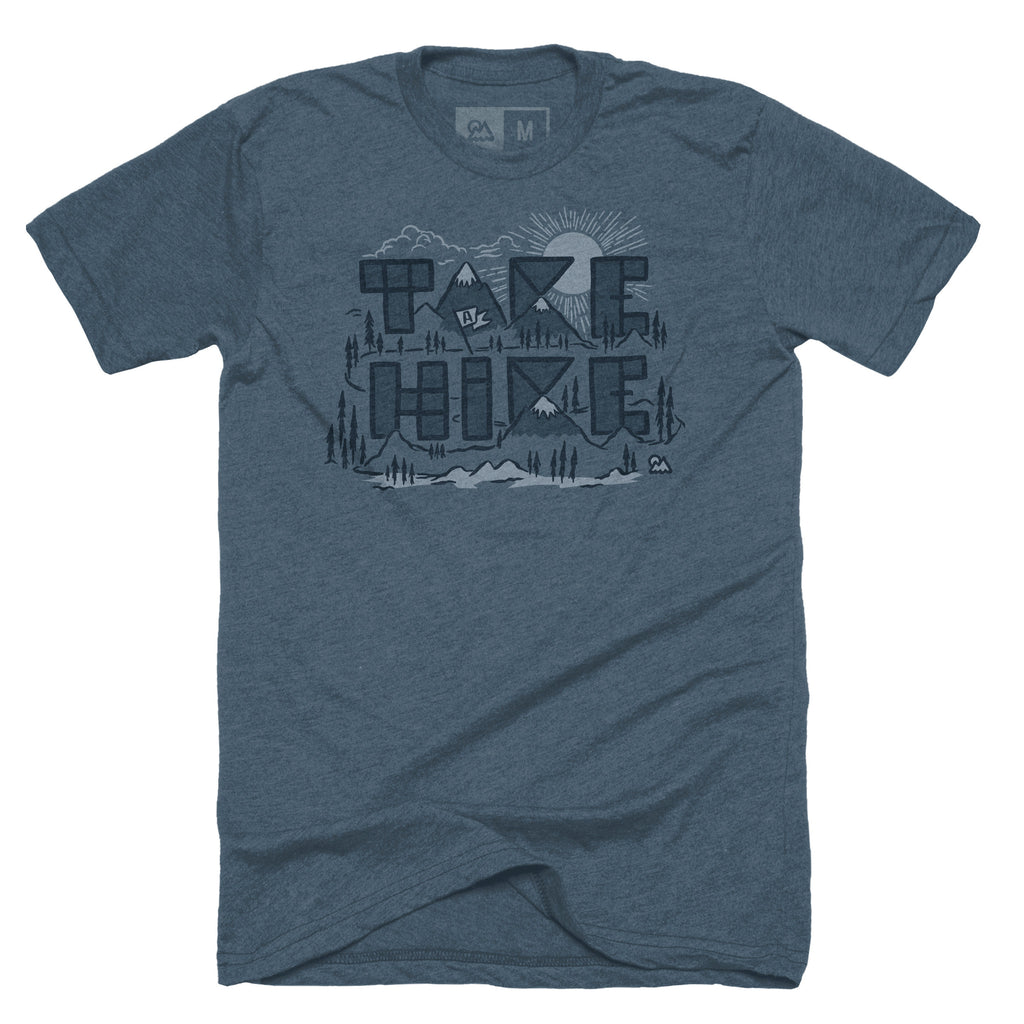 Take a Hike T-shirt - The Outdoor Majestic