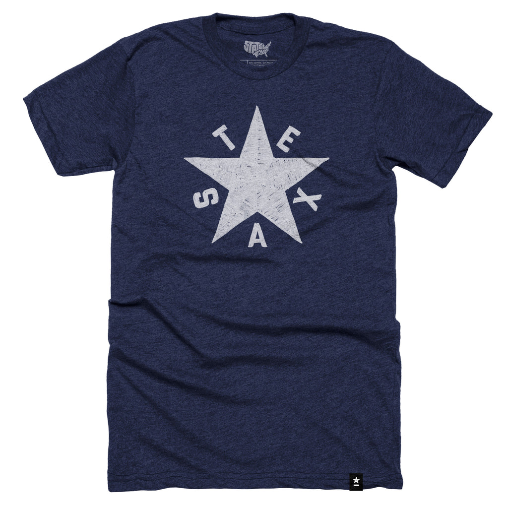 Texas Star T-shirt - Stately Type