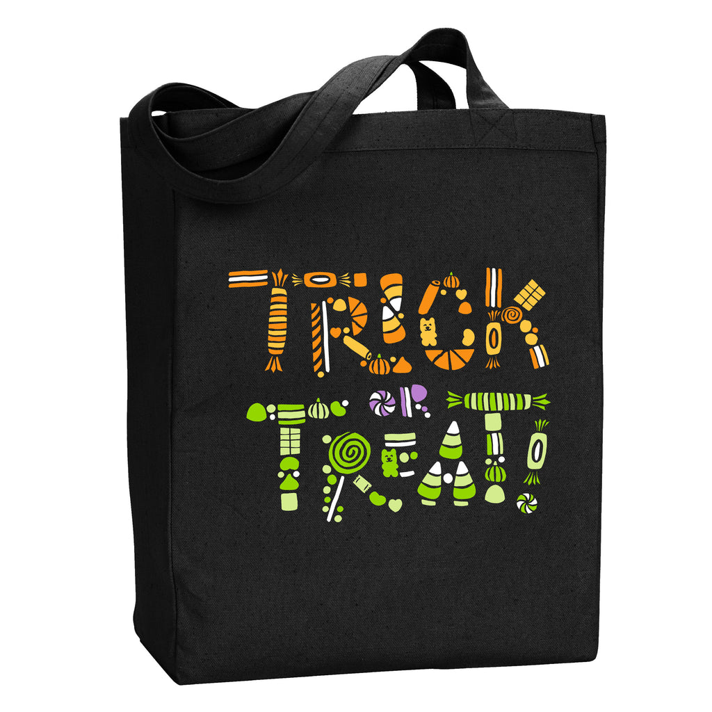 Trick or Treat Tote - Stately Type