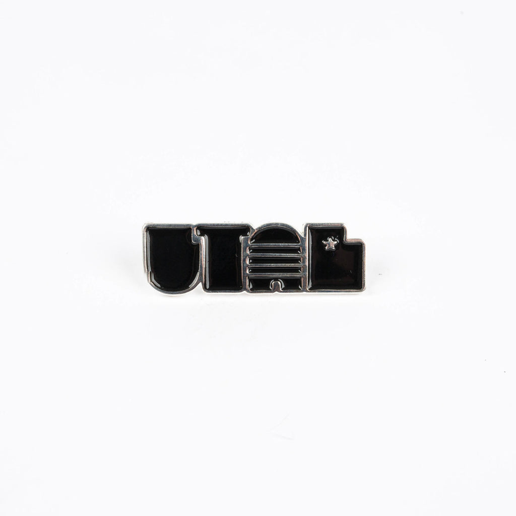 Utah - Enamel Pin - Stately Type