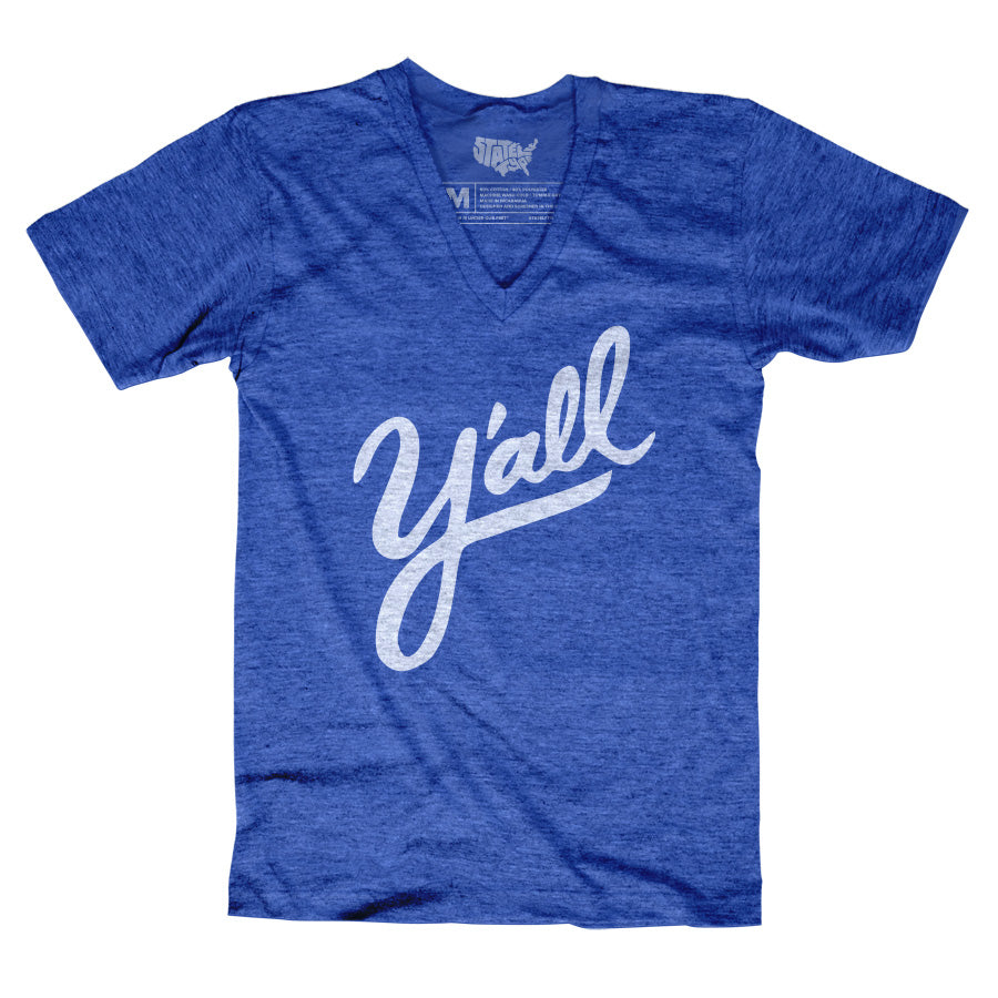 Y'all T-shirt - Stately Type