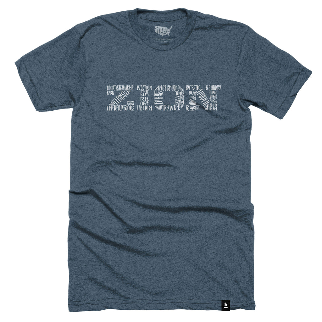 Zion National Park T-shirt - The Outdoor Majestic