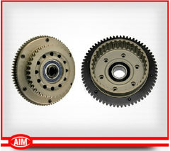 For '90-'93 BT, Billet Clutch Basket, 37T Sprocket, 66T Ring gear