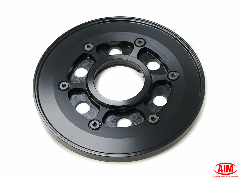 Billet Pressure Plate, Black, for Harley Davidson '98 and later BT