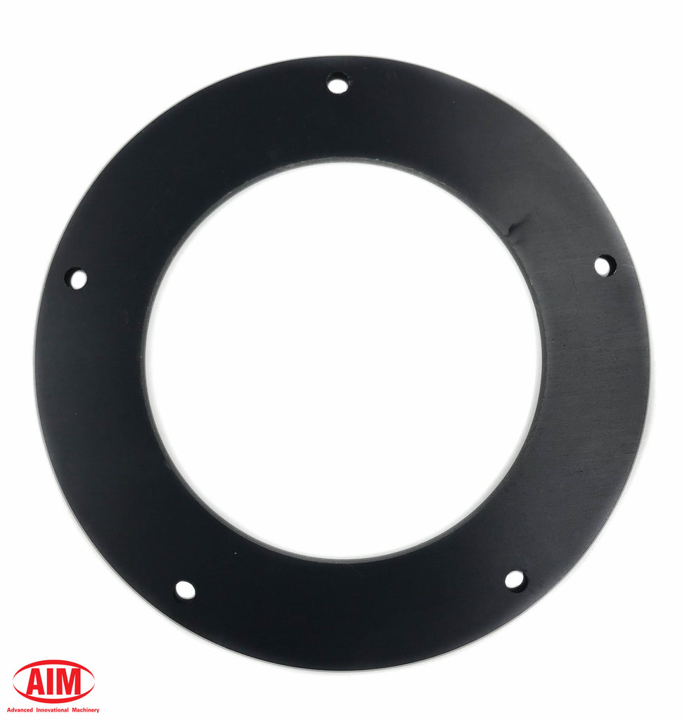 "Black Narrow Primary Derby Cover Spacer 1/4"", for '15 and later Narrow Primary Cover"