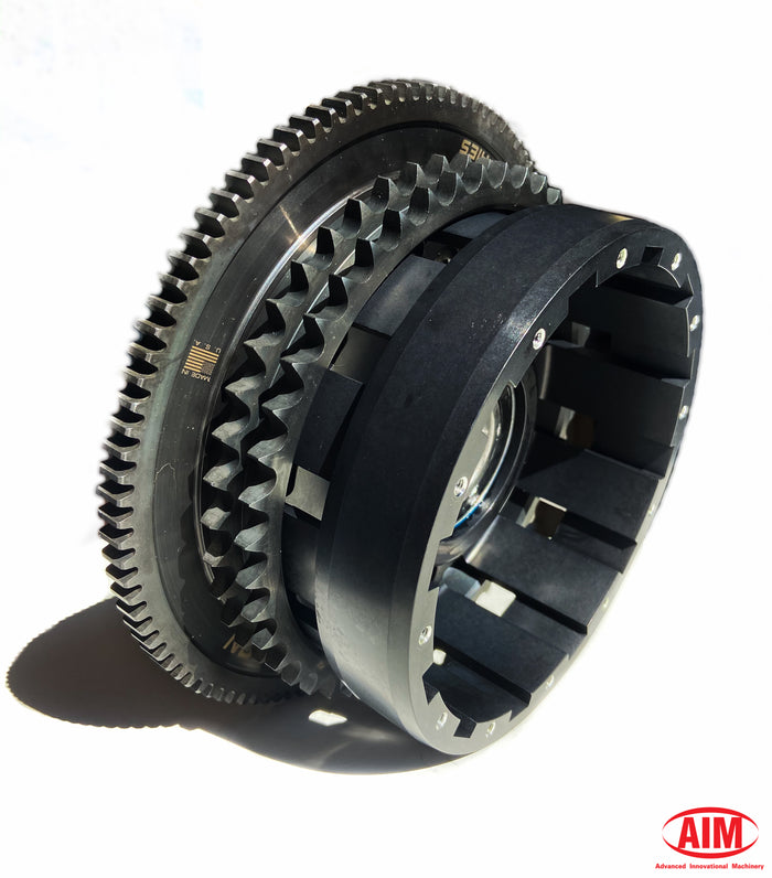For '07 to '10 (including '06 Dyna), Billet Clutch Basket, 46T Sprocket, 106T Ring gear