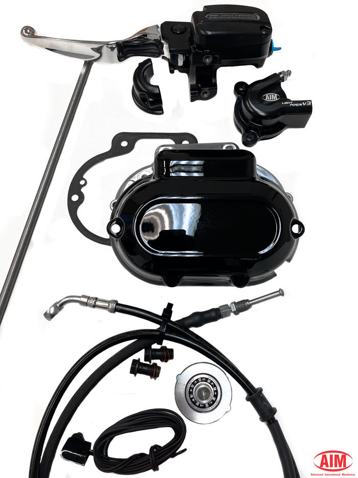 Complete Plus Kit - (Includes OEM Clutch line + Black Outer Cover)