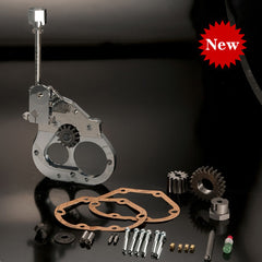 MB003-003 ............ Reverse Gear MAMBA,  H-D 5-speed Cable Clutch, Two-Piece Style
