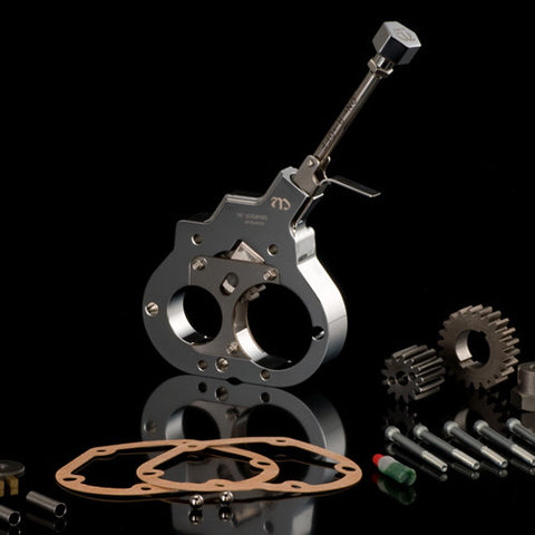 MB006-002 ............ Reverse Gear MAMBA, Screaming Eagle and RevTech 6-Speed Conversion Kits, Ultima Transmissions, Two-Piece, Chrome