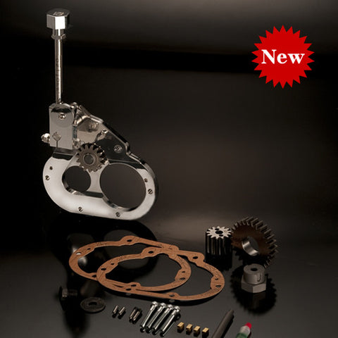 MB002-006 ............ Reverse Gear MAMBA, H-D 6-speed cable clutch, Two-Piece Style