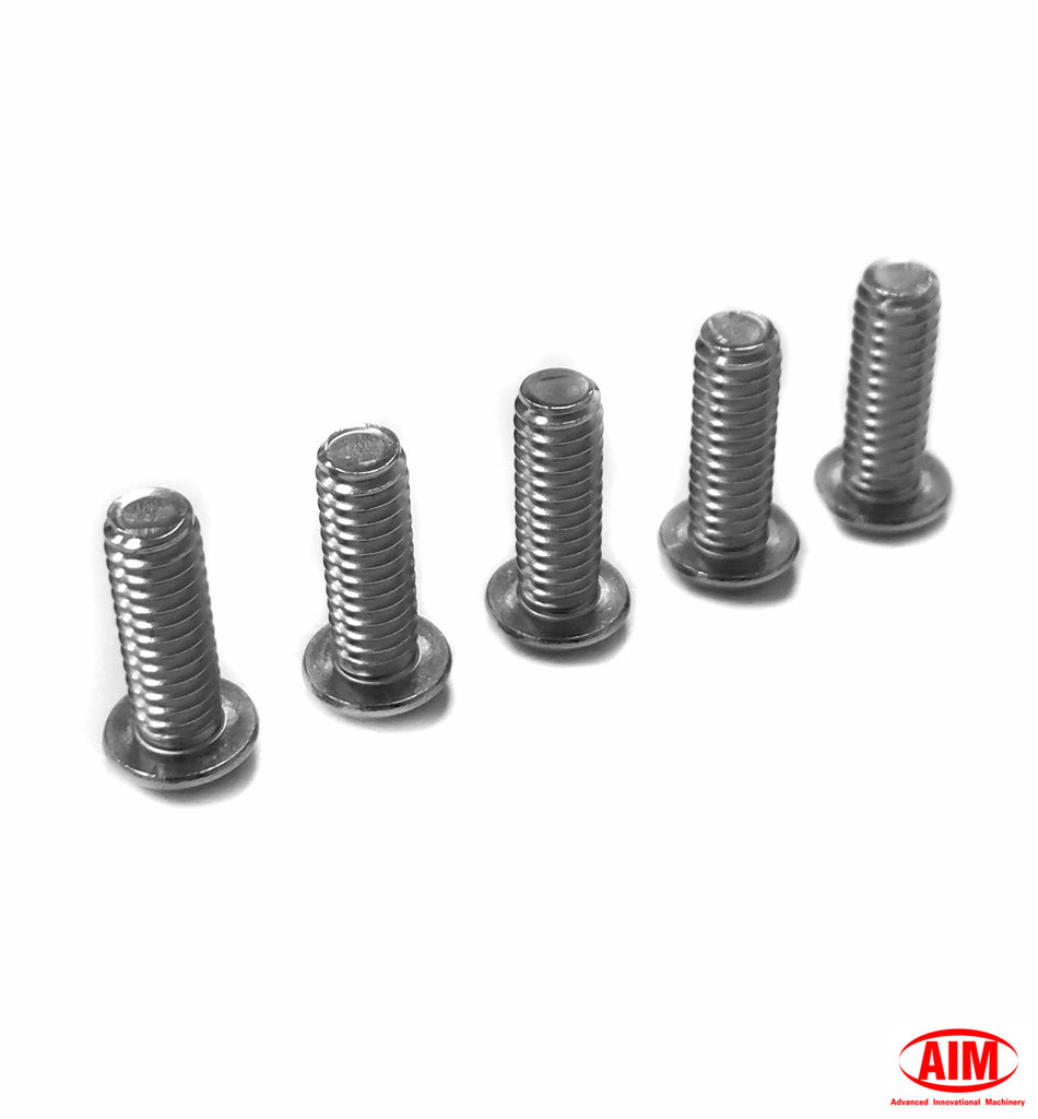 Replacement Derby cover screw kit for 1/2 spacer and clear derby cover