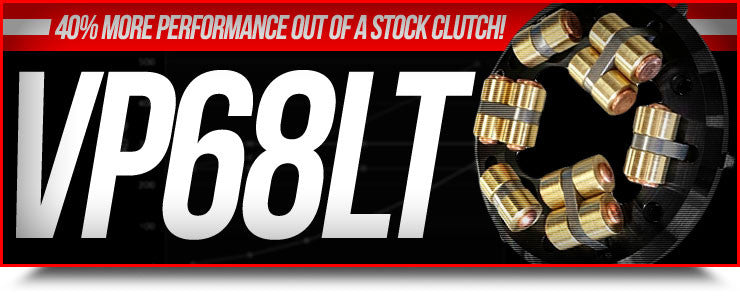 40% more performance out of stock clutch!