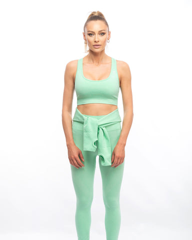 Set Fitness din 3 Piese Mint
