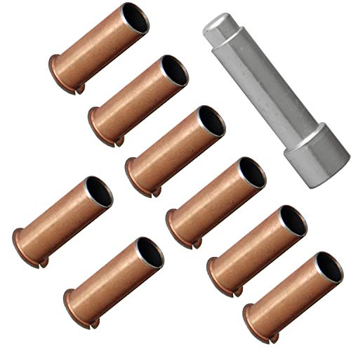 LEDAUT Door Hinge Roller Pin Door Hinge Pin and Bushing Repair Kits for 1999-up GMC Sierra Chevrolet Silverado Chevy Truck SUV
