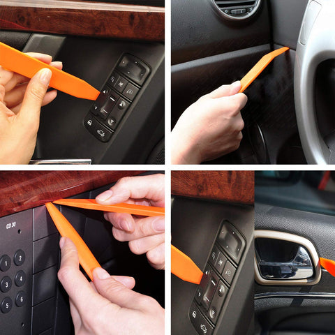 MUKOOL Car Retainer Clips Kit-620Pcs Auto Plastic Fasteners 16 Most Popular Sizes Auto Clips Push Pins Kit with 10 Cable Ties and Plastic Fasteners Remover for Toyota Gm Ford Honda Acura Chrysler
