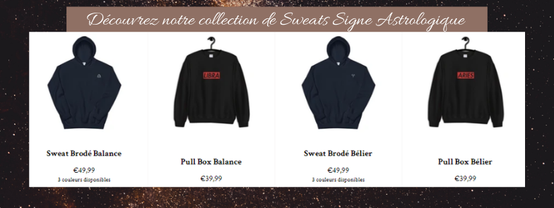 sweat signe astrologique