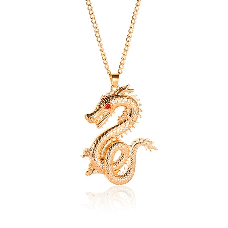 Pendentif Signe Astrologique Chinois Dragon