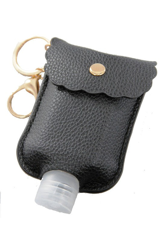 Hand Sanitizer Keychain (Black)