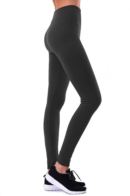 Fleece Lined Leggings (Black)