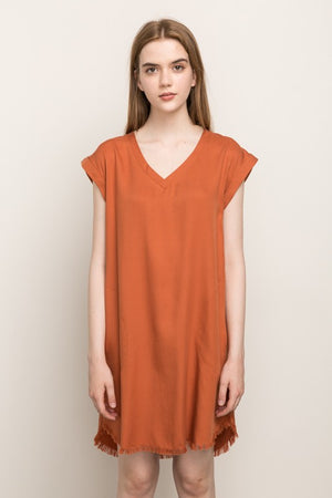 Washed Tencel Dress