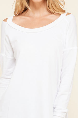 French Terry Top (White)