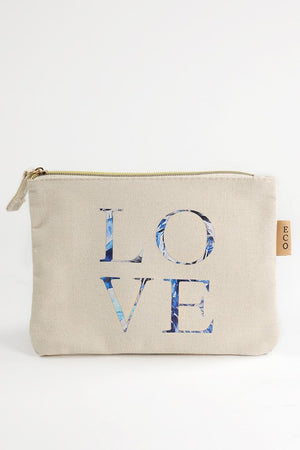 Love Canvas Pouch