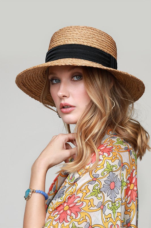 Straw Hat (Dark)