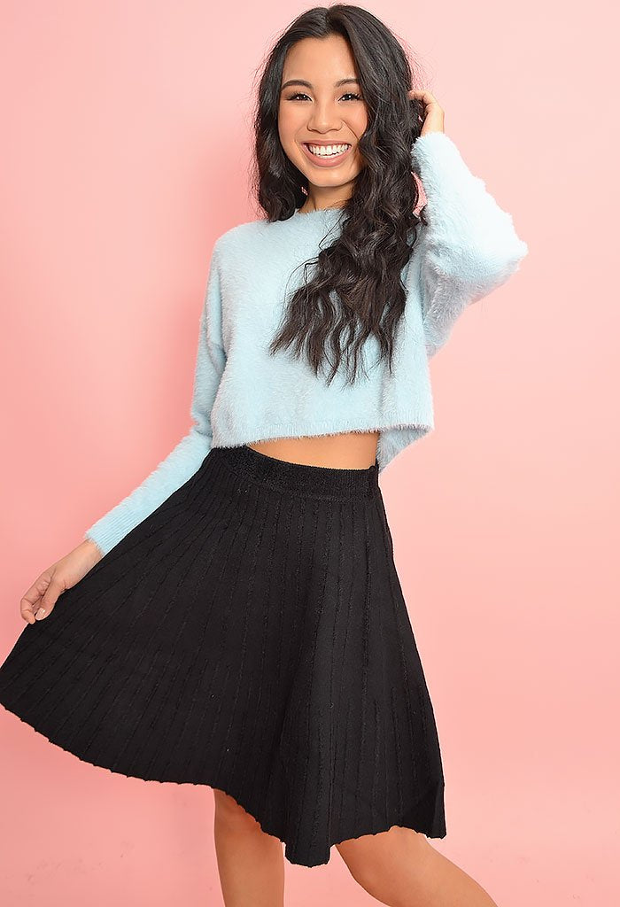 Emily Knit Mini Skirt