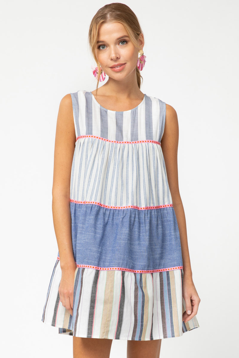 Tiered Sleeveless Dress
