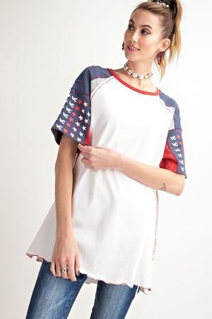 American Themed Top