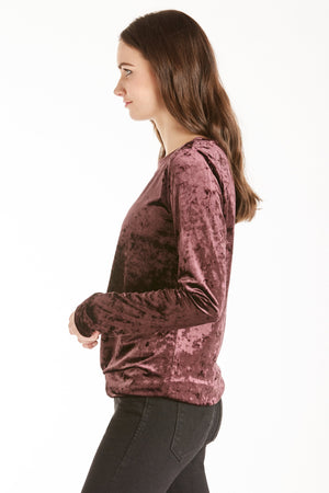 Another Love Jackson Top (Plum)
