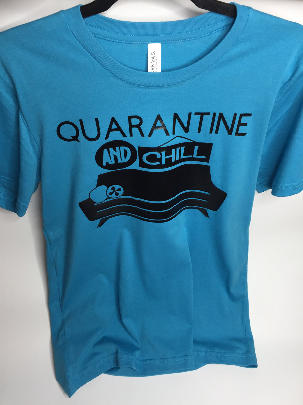 """Quarantine and Chill"" Tee"