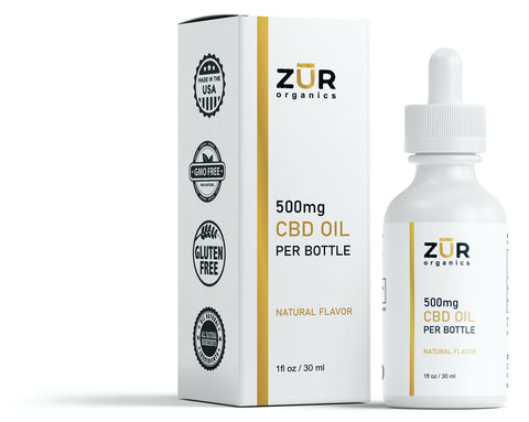 CBD Oil Drops - 500mg Regular Strength