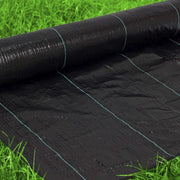 Woven Geotextile Black Weed Barrier Fabric 4X50 ft, 4.1 oz/140 gsm