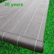 Woven Weed Barrier Landscape Fabric Heavy Duty 3Ft x 300Ft, 3.2oz / 108 gsm