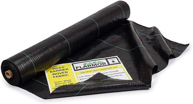 Woven Weed Barrier Landscape Fabric Heavy Duty 3Ft x 300Ft, 3.2oz/108 gsm