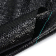 Woven Geotextile Black Weed Barrier Fabric 3X300 ft, 4.1 oz / 140 gsm