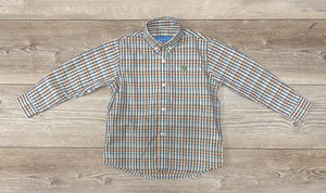 JB Button Down Shirt Kaleidoscope Plaid