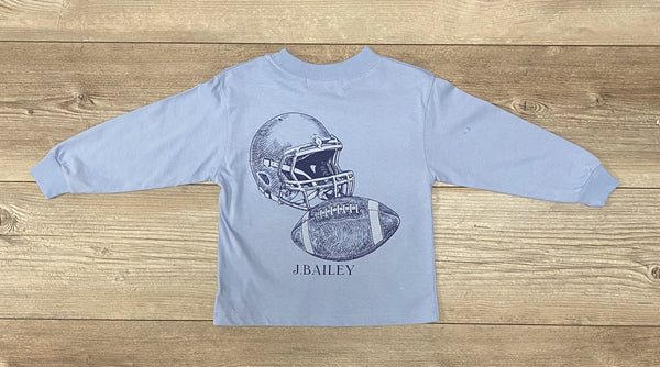 JB Long Sleeve Football Tee