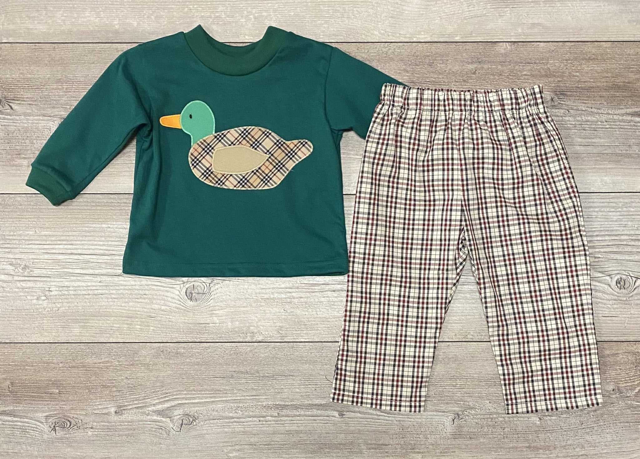 Funtasia Mallard Duck Pant Set