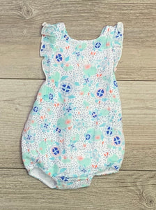 AD Turtles Sunsuit