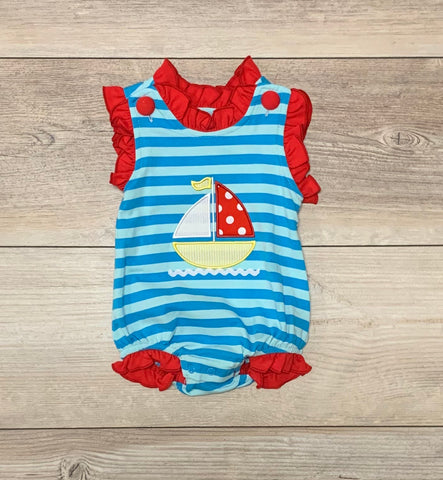 TS Girls Sailboat Bubble