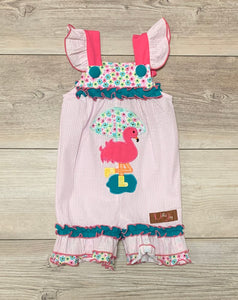 MJ Flamingo Romper
