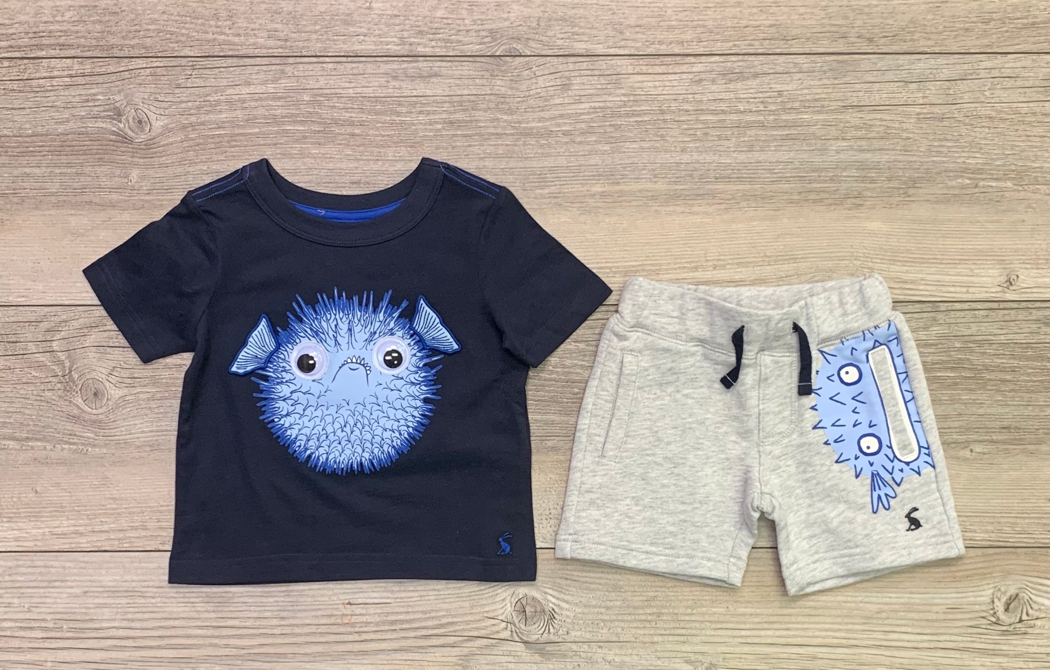 JU Puffer Fish Short Set