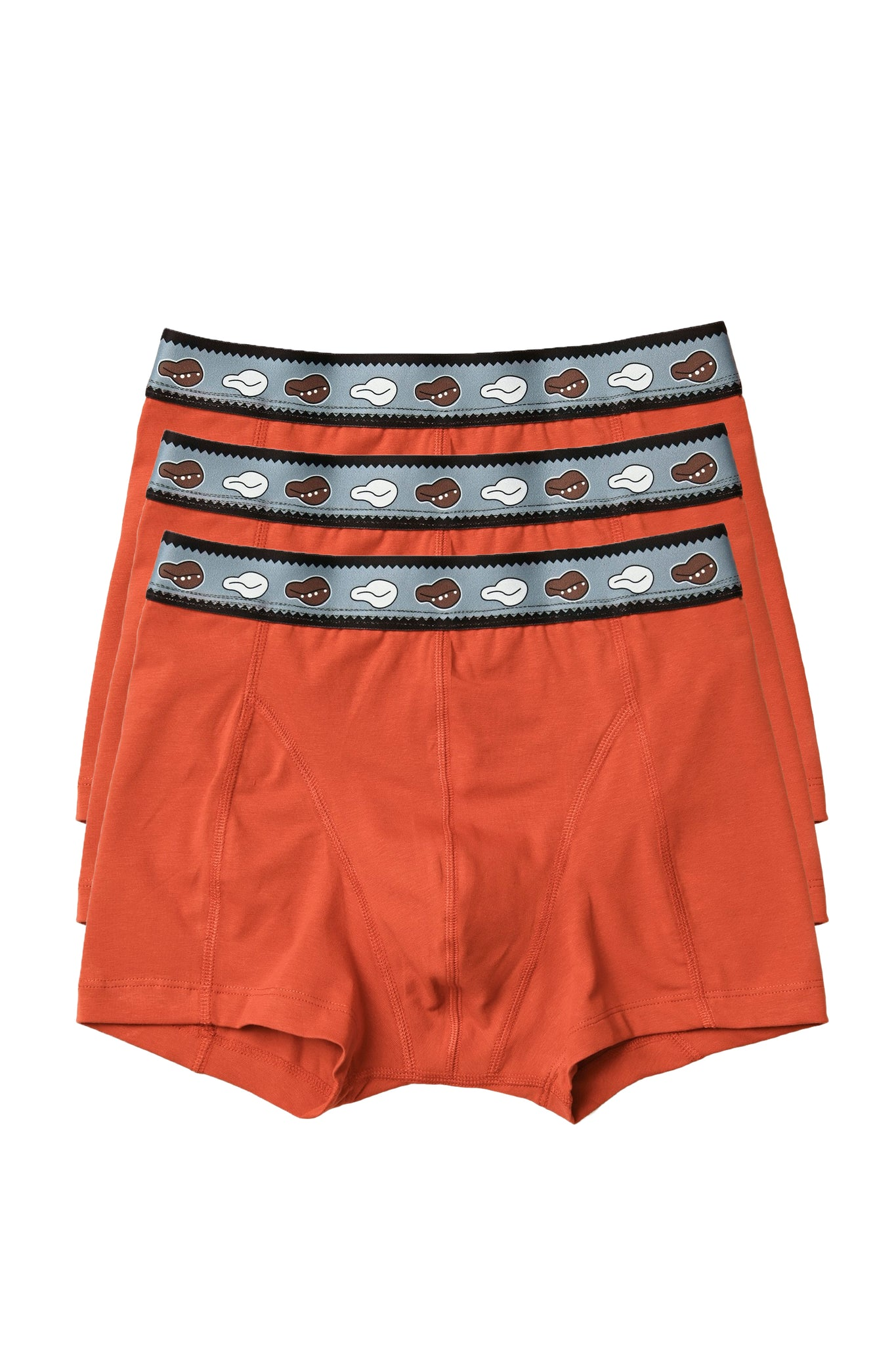 Boxer briefs with printed waistband - 3-pack