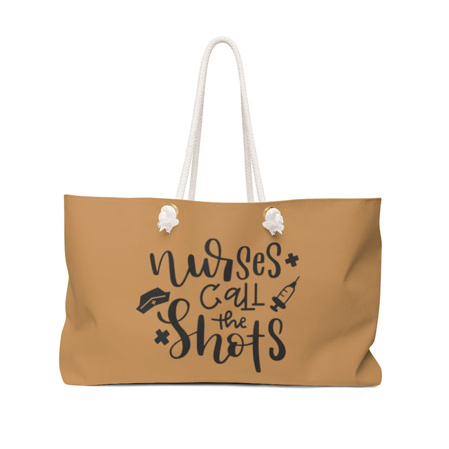 Nurses Call the Shots Weekender Bag