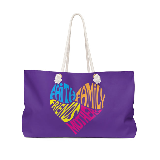 Mothers Heart Weekender Bag