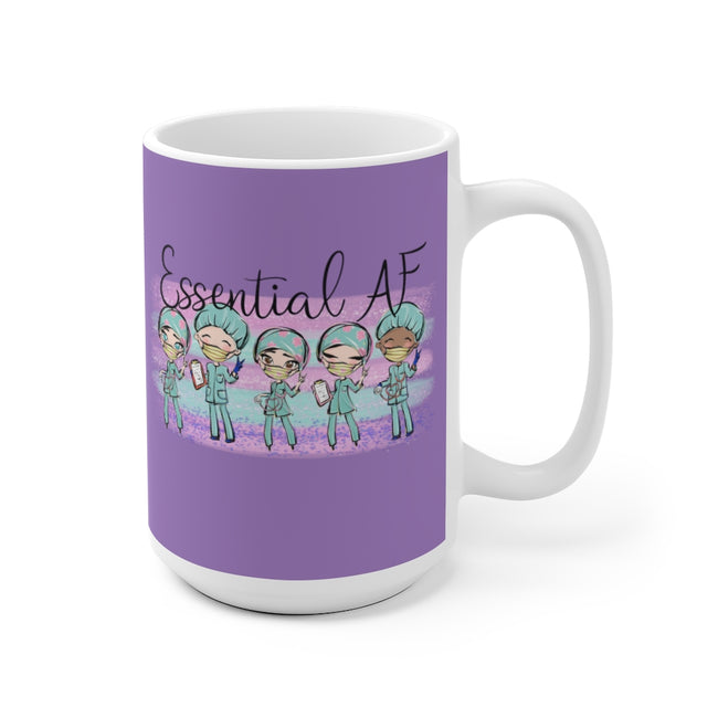 Essential AF Ceramic Mug in 11oz and 15oz Sizes