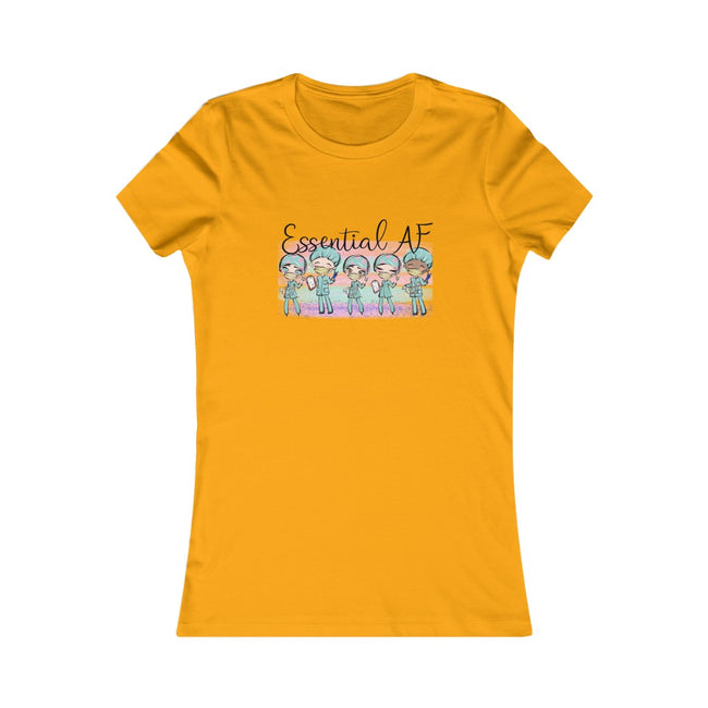 Essential AF Women's Favorite Tee w/Logo on Chest - MY TEE USA