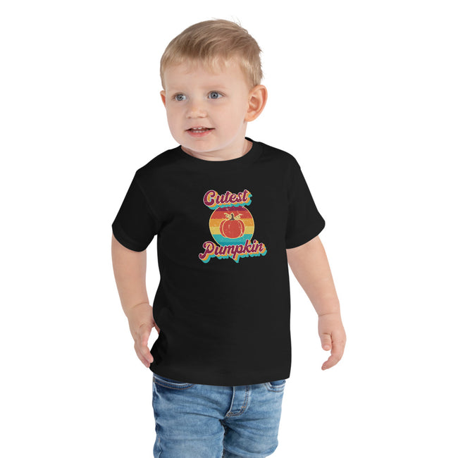 -Cutest Pumpkin Toddler 2 to 5T Short Sleeve Tee - MY TEE USA